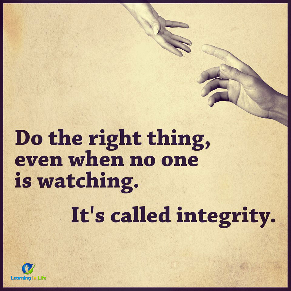 Photo of Integrity