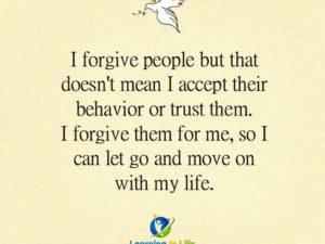 I Forgive People