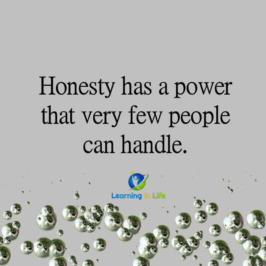 Photo of Honesty Has A Power