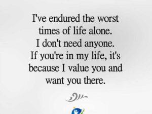 I Don't Need Anyone