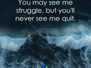 Never See Me Quit