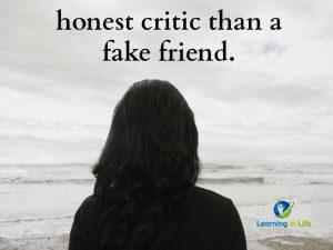 Honest Critic