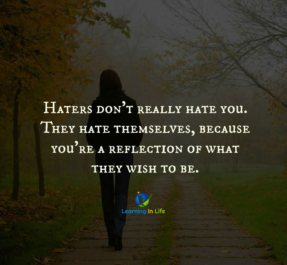 Photo of Haters Don't Really Hate You