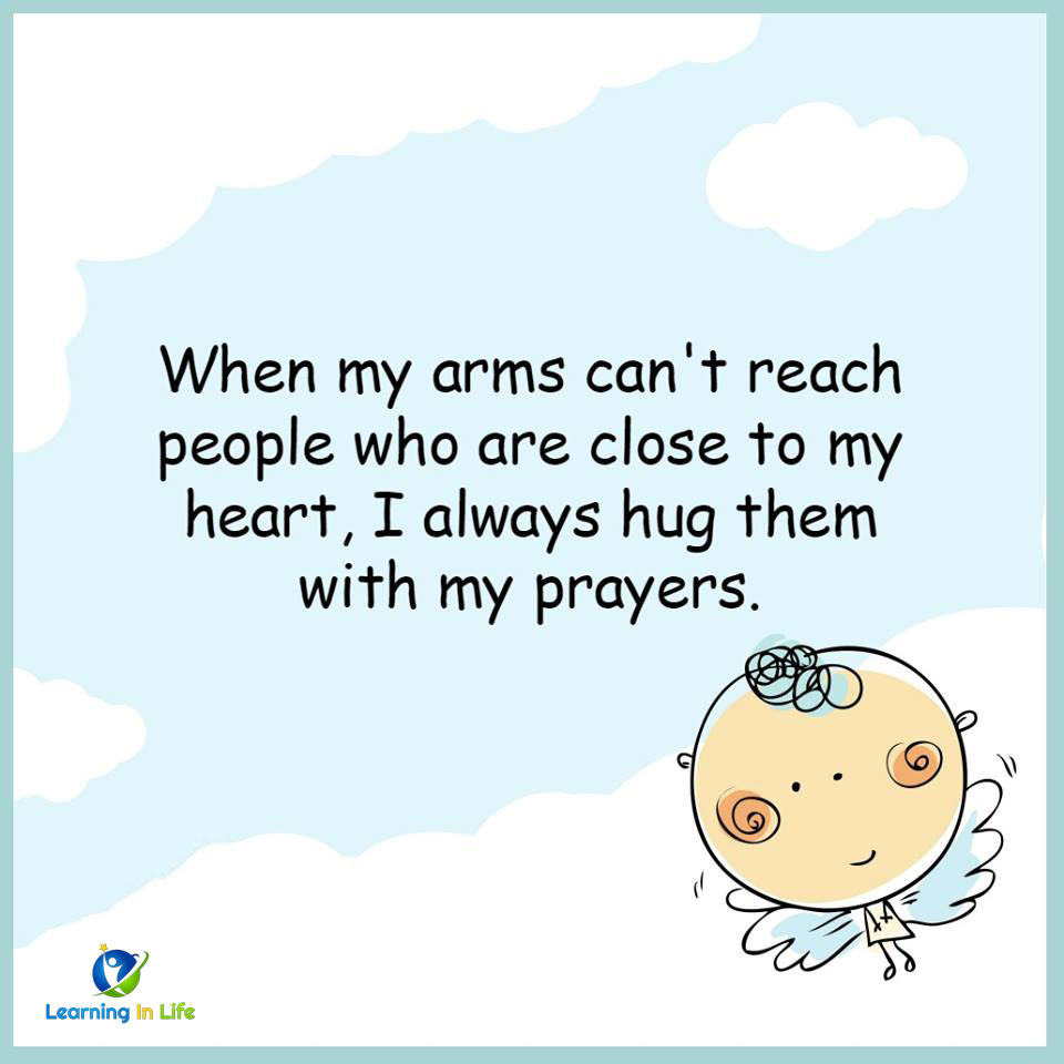 Photo of Hug Them With My Prayers