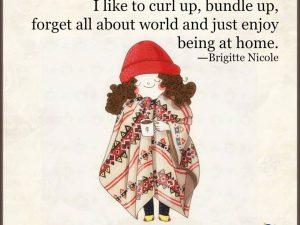 Curl Up, Bundle Up
