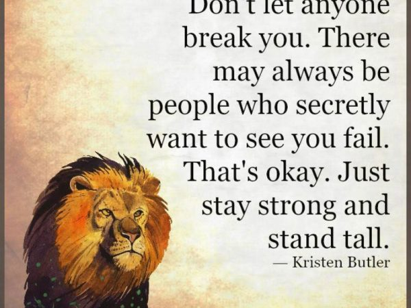 Stay Strong and Stand Tall