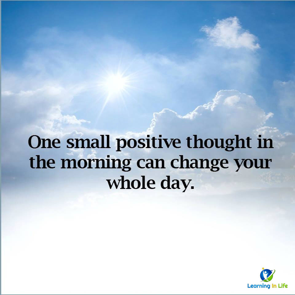 Photo of Positive Thought
