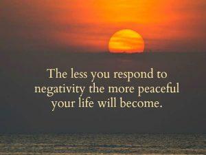 Respond to Negativity