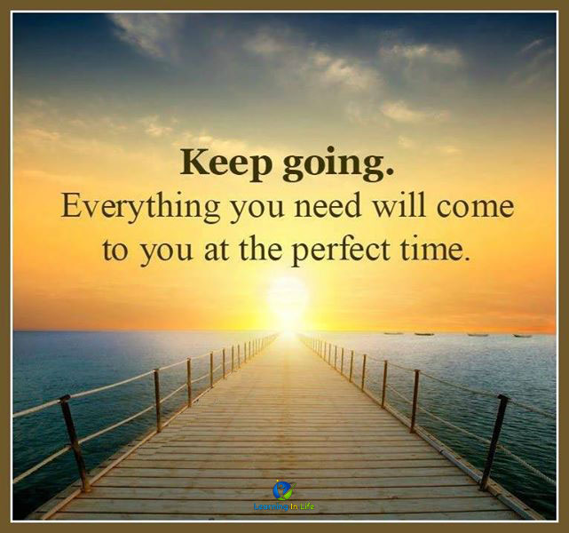 Photo of Keep going.