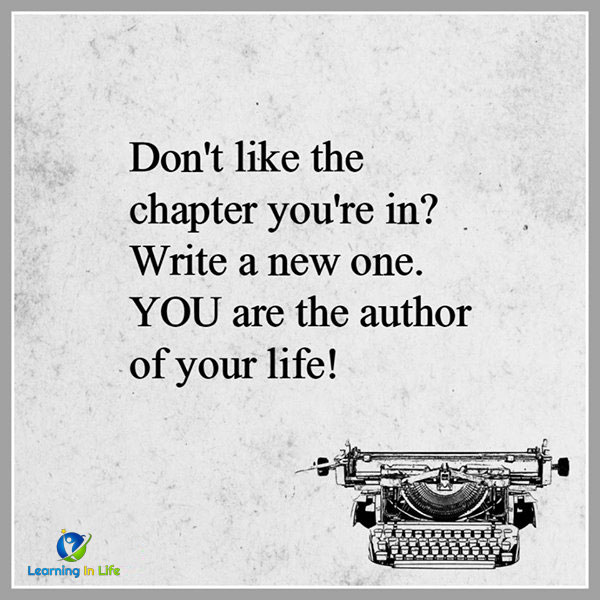 Photo of YOU are the Author