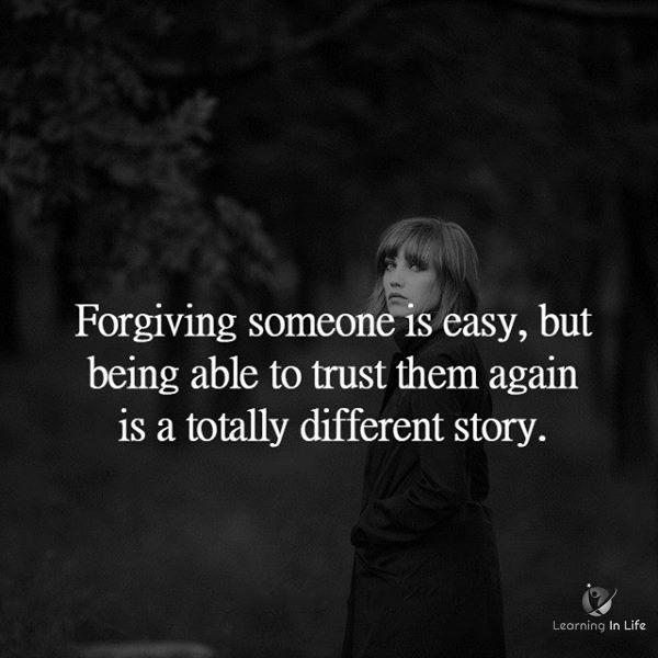 Photo of Forgiving Someone