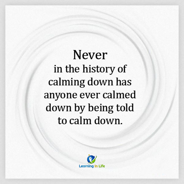 Photo of Calm Down!