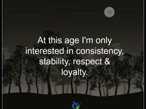 At this age…