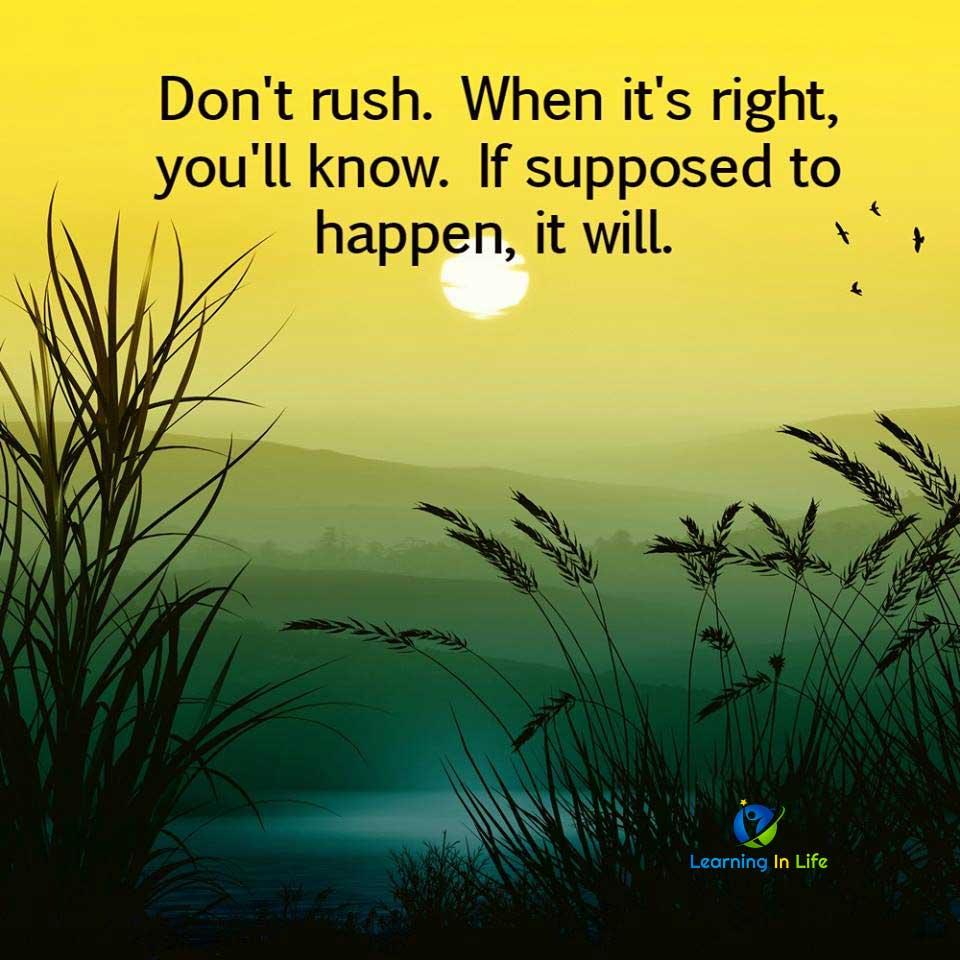 Photo of Don't Rush