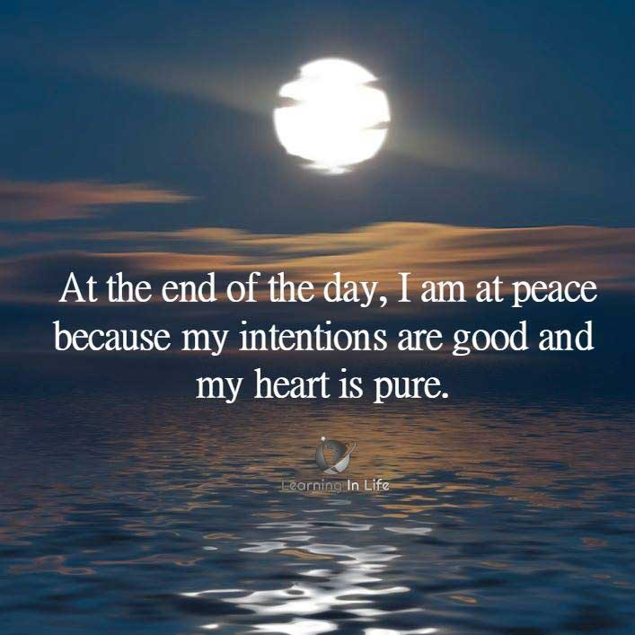 Photo of I am at peace