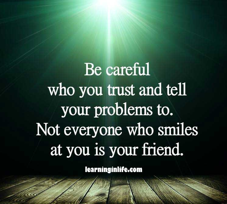 Photo of Be careful
