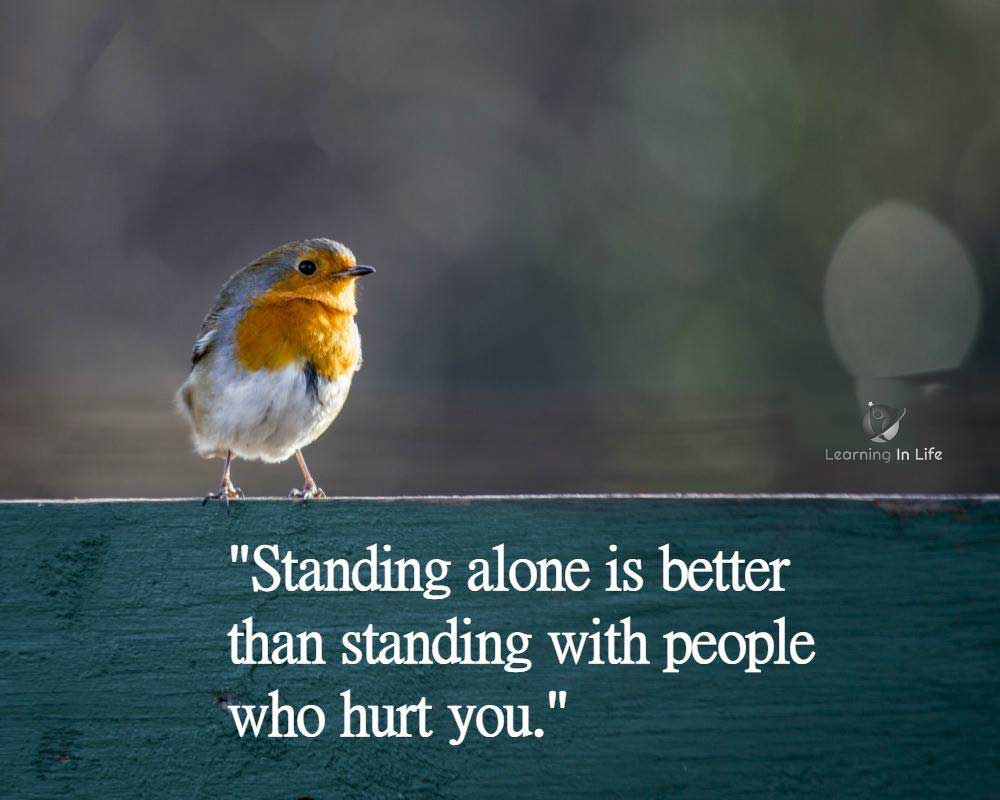 Photo of Standing Alone