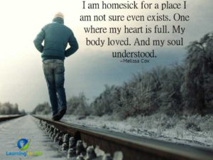 Homesick For A Place