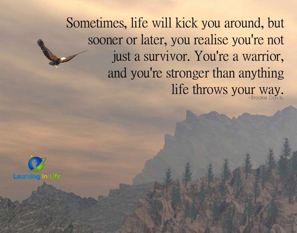 Photo of Life Will Kick You Around