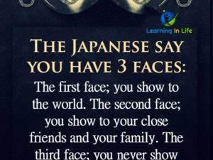 You Have 3 Faces