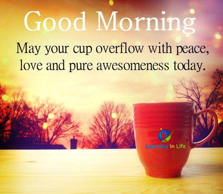 Photo of Good Morning