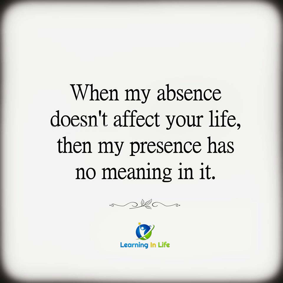 Photo of Absence