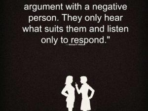 A Negative Person