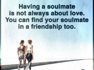 Having A Soulmate