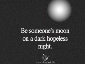 Be Someone's Moon