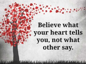 What Your Heart Tells You