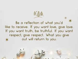 Be A Reflection