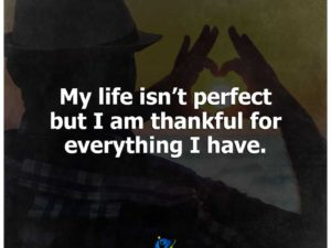 Thankful for everything