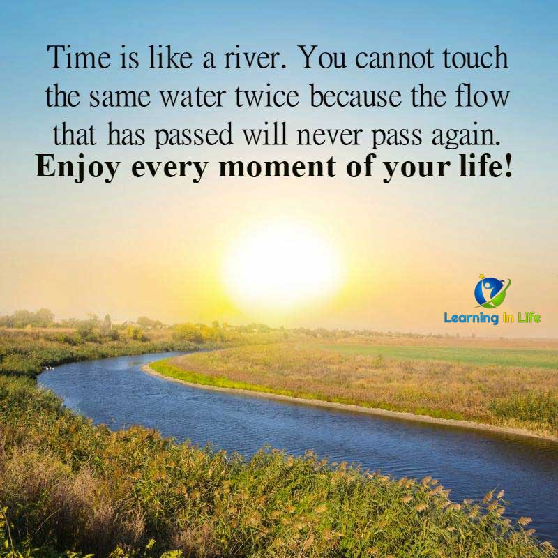 Photo of Time Is Like A River