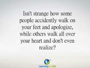 Isn't It Strange…