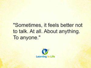 Sometimes….