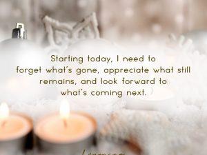 Starting Today…