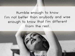 Humble Enough