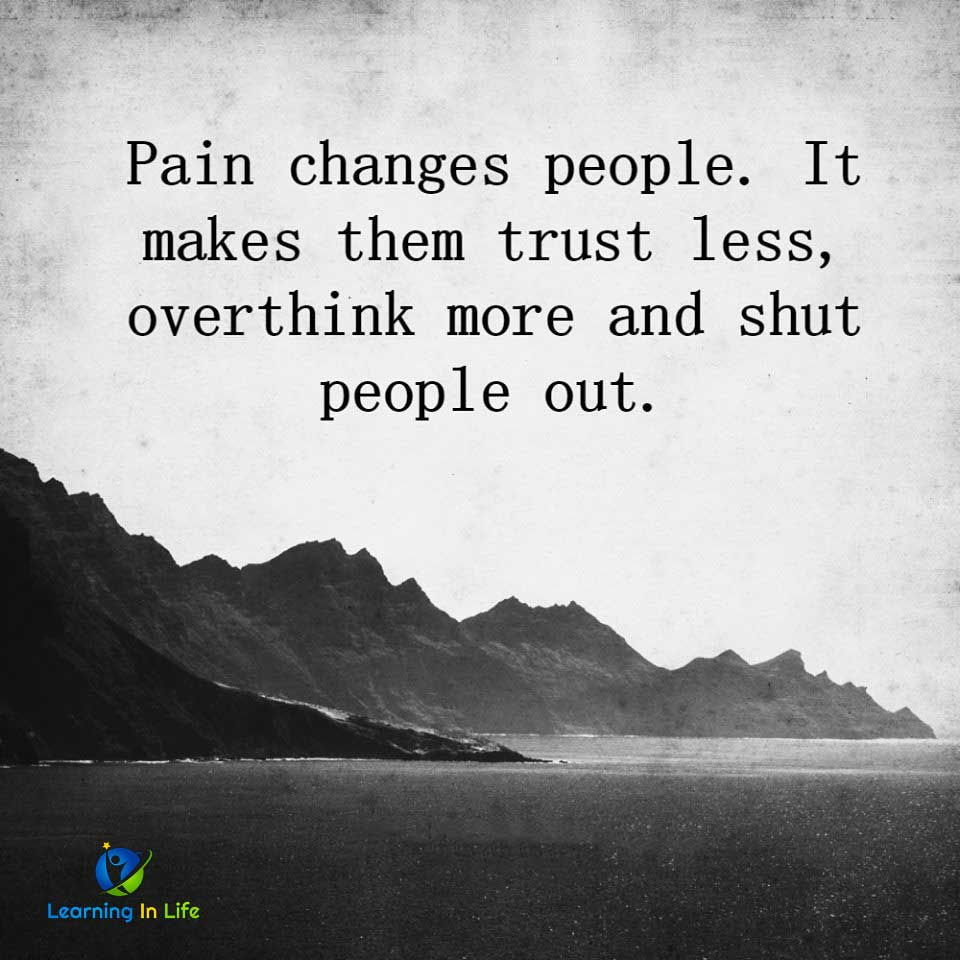 Photo of Pain Changes People