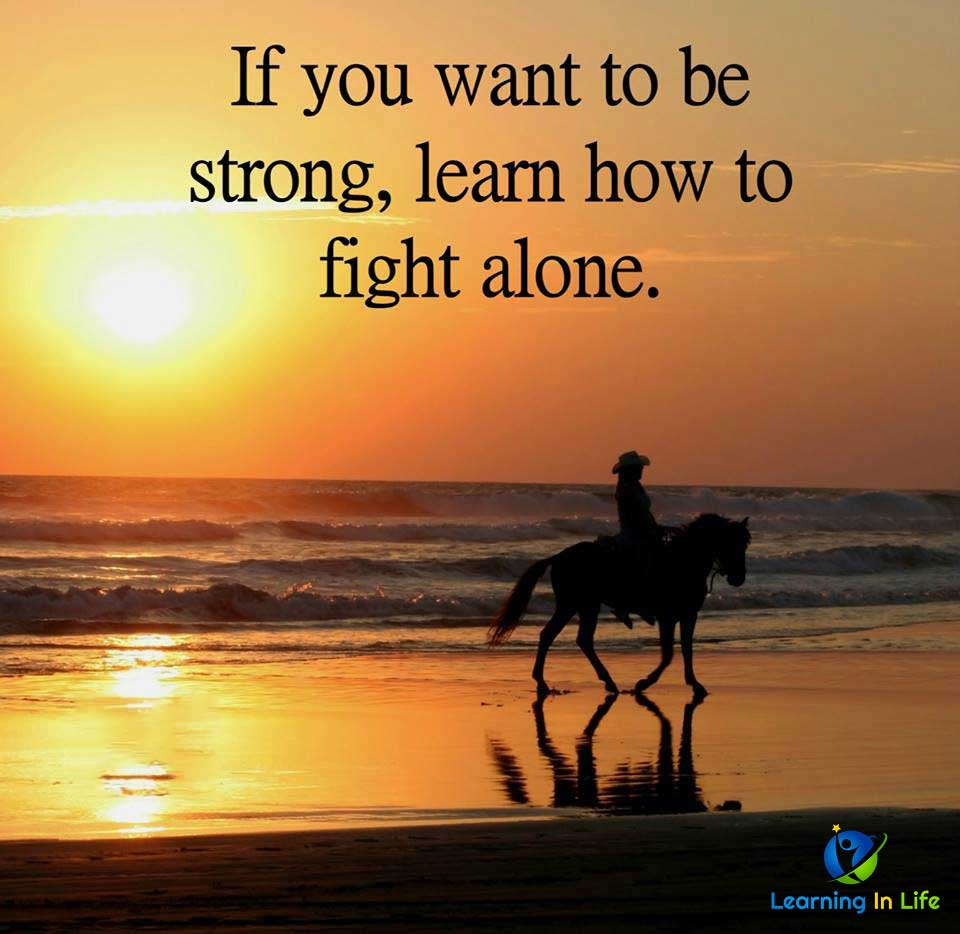 Photo of If you want to be strong