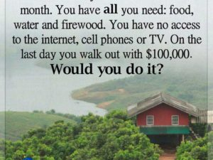 WOULD YOU DO IT?!