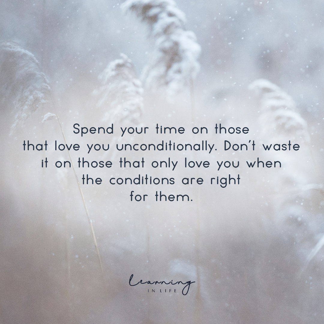 Photo of Spend Your Time on those that love you…