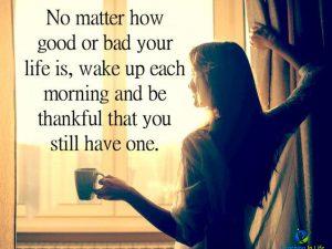 Wake Up Each Morning