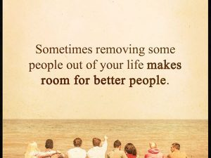 Makes Room For Better People