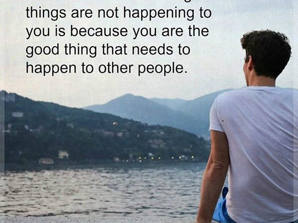 Good things are happening