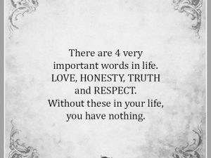 4 Very Important Words