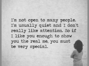 You Must Be Very Special