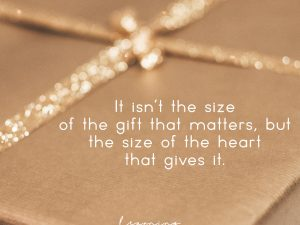 Size of the heart…