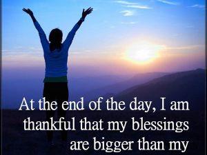 My Blessings