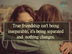 What is true friendship?