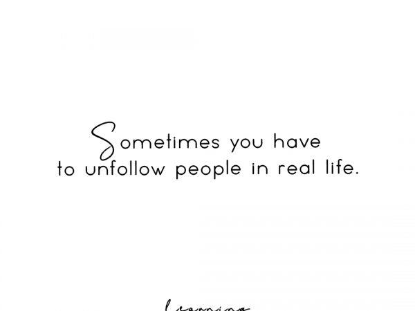 Unfollow people in RL